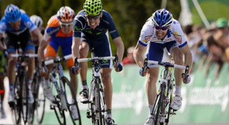 Frenchman clinches first Tour de Andalucia stage