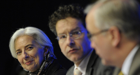 Markets dip after Cyprus 'template' comment
