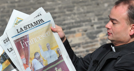 Spain's royals welcome new pope
