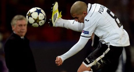 Valencia bow out after failed comeback in Paris