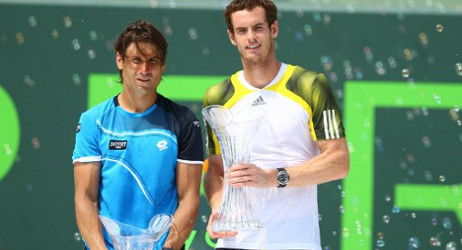 Murray outlasts Ferrer to win Miami Masters
