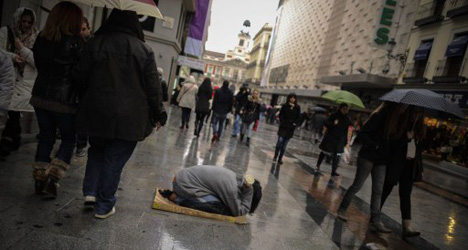 Rich-poor divide grows fastest in Spain