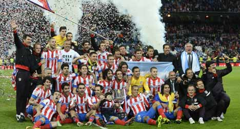 Atletico stun Real in King's Cup final