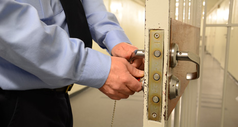Prison guards face rap for napping at work