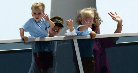 Spain's king gives up luxury yacht 'Fortuna'