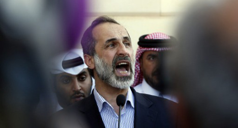 Syrian opposition meets in Madrid over conflict