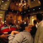 Make sure you greet complete strangers in lifts: There's no need to get to know them inside out, but saying buenos dias or buenas tardes in these kind of situations is considered good manners in Spain. If you give them the cold elevator shoulder, they'll probably guess you're a guiri.Photo: Cheffreeman/Flickr