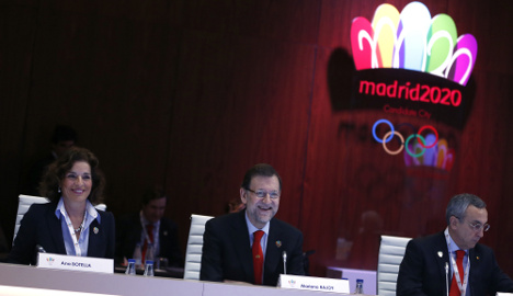 50,000 turn out to back Madrid Olympic bid