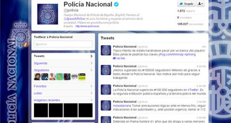Spanish cops chase FBI in Twitter crime fight