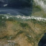 North American wildfires send smoke over Spain