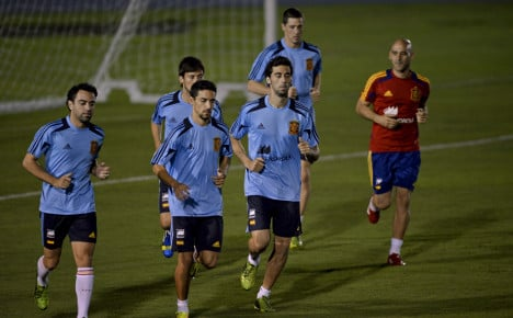Spain, Brazil look to serve up a final feast