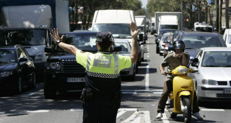 Speeding Spanish drivers face fines in France