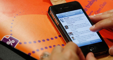 Spain tops charts for online chat
