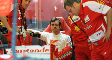 Fernando Alonso laughs off Red Bull rumours