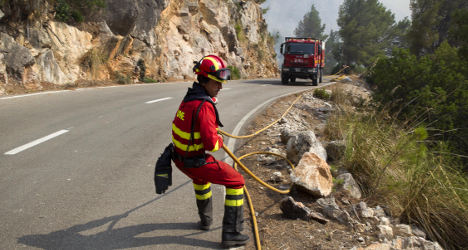Barbecue buddies face Majorca blaze charges