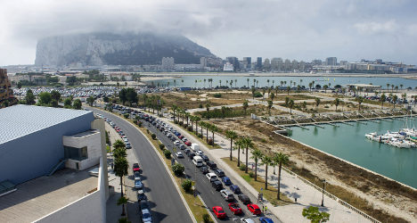 Missile flingers turn up heat in Gibraltar row