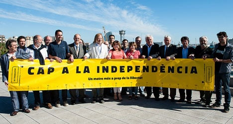 Catalans gear up for 400km human chain
