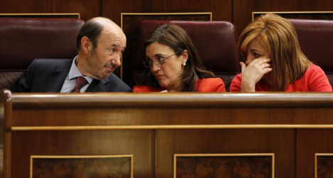 'It's you who's damaging Spain': Socialists