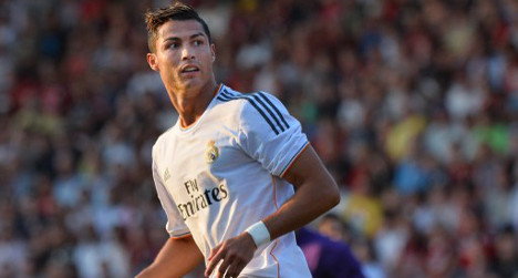 Real's Ronaldo crowned Spain's best-paid player