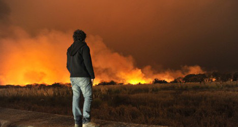 Majorca forest fire forces 200 to flee