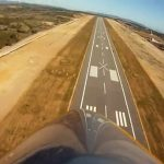 """Castellón airport: At the opening of this €150-million airport, the ex-president of the region of Valencia, Francisco Camps, said the town found itself at """"the high point of Spanish history"""". However, two years on, the airport is empty and not a single passenger has ever checked in.Photo: YouTube"""