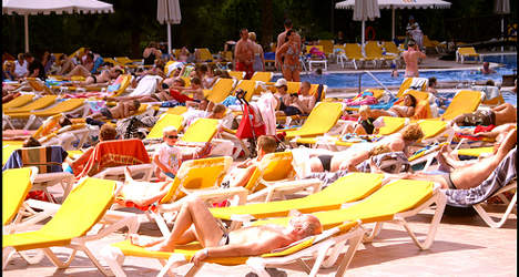 British tourists still in love with Spain: Study