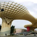 Metropol Parasol (Seville): The creators of this mushroom-shaped parasol, situated in the old quarter of the Andalusian capital, claim it is the biggest wooden structure in the world. It took six years to complete and was €36 million over budget (€86 million when finalized in 2011).Photo: Josemaria/Flickr