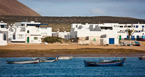 Spain's 'funny island' loses only bank