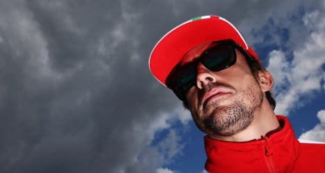'I'm not poor – just a bit less rich': Alonso