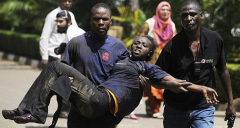 Spanish woman trapped in Kenya mall horror