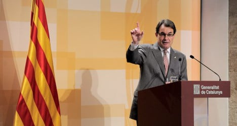 'Our home is Europe': Catalan President