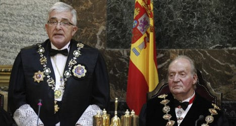 Spanish King booed by justice protesters