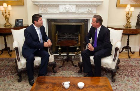 British PM vows to 'stand up for Gibraltar'
