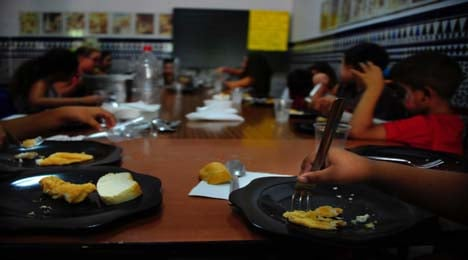Hungry Spanish pupils flock to summer school