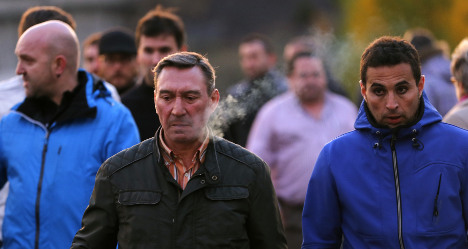 Spanish miners strike honours accident victims
