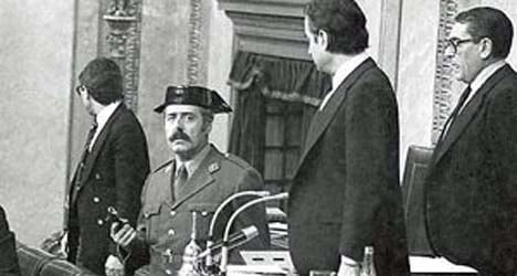 Spain's famous military coup hat 'a fake'