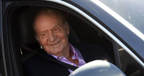 Spain's King heads home after hip surgery