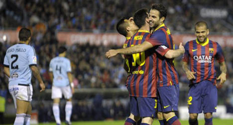 Much-changed Barça still too good for Celta