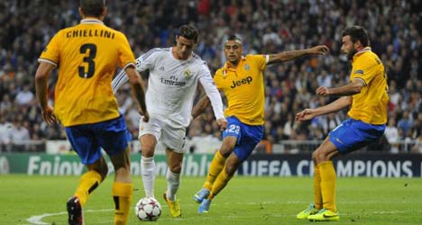 Spot on Ron sees Real Madrid past Juventus