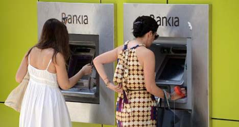 Rescued Spanish Bankia on the mend: report