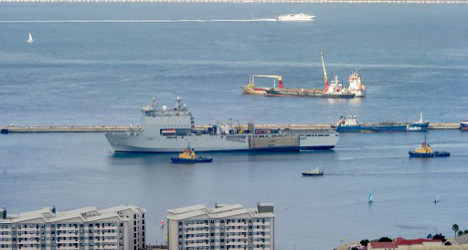 Gibraltar row reheats after ship stand-off