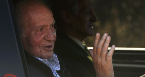Spanish King heads home after hip surgery