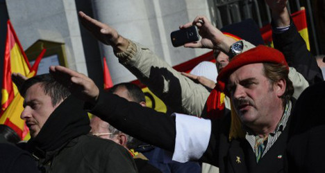 Spain's right wing honours dictator Franco