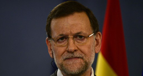 Spanish PM warns Scots on independence