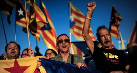 Catalans back away from independence: Poll