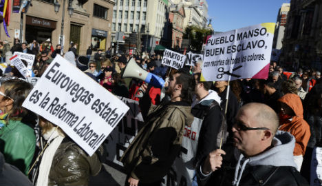 Spain hikes fines for civil offences