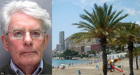 Police nab one of UK's Most Wanted in Spain