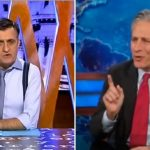 The Spanish Jon Stewart: Jon Stewart and El Gran Wyoming. They're both acerbic, political satirists with wildly popular shows. That's why El Gran Wyoming – or José Miguel Monzón Navarro to his mum – is one of the country's most admired comedians. His programme El Intermedio is to Spain what the Daily Show is to the US.  Photo: YouTube