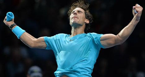 Nadal victory seals end-of-year number one spot