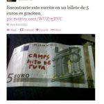 Camps (Valencia's regional president currently under investigation for corruption), son of a bitch!Photo: Twitter